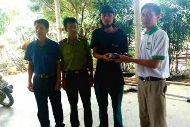 Nhận thức cộng đồng về bảo tồn được nâng cao qua việc tự nguyện giao nộp động vật hoang dã